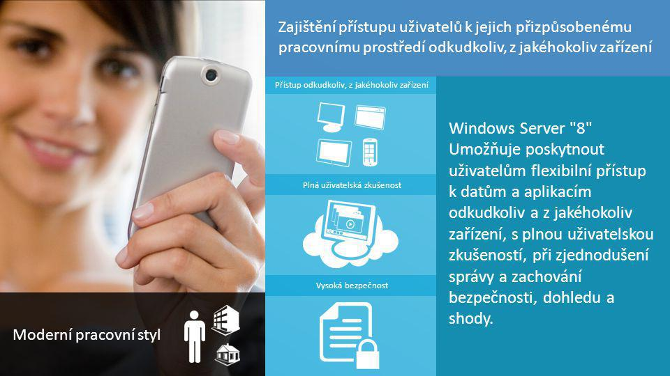 TOP Hotel Praha 7. – 8. 3. 2012 15 Windows Server