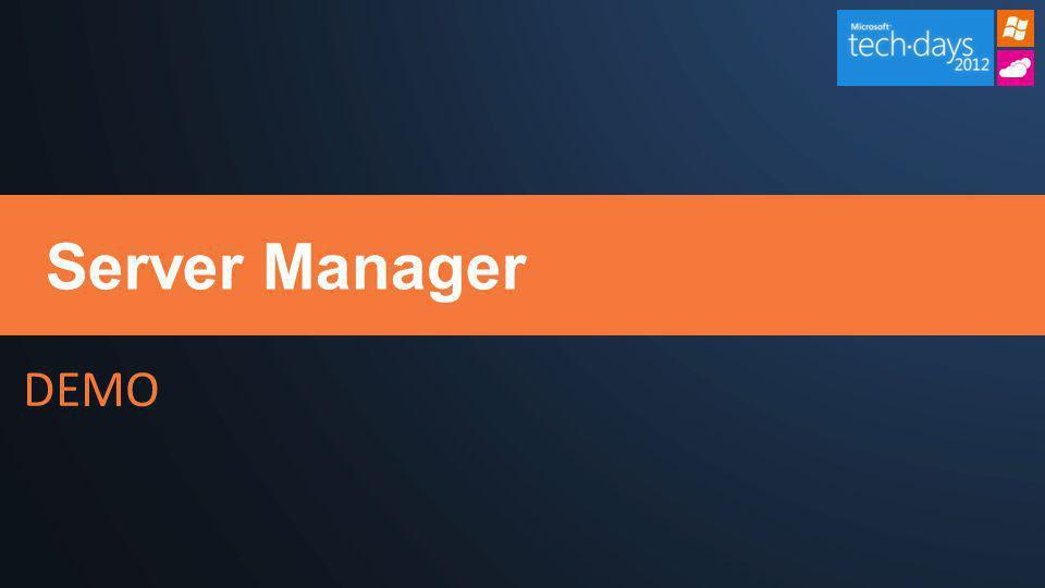 DEMO Server Manager
