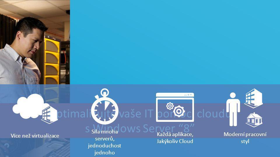 """TOP Hotel Praha 7. – 8. 3. 2012 Optimalizujte vaše IT pomocí cloudu s Windows Server """"8"""" Moderní pracovní styl Každá aplikace, Jakýkoliv Cloud Více ne"""