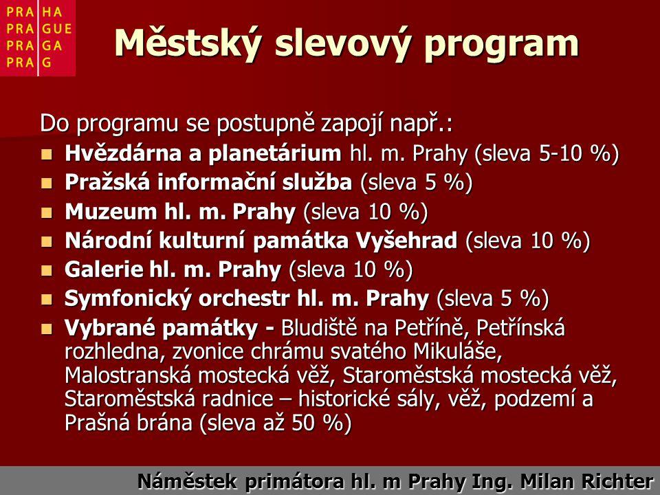 Do programu se postupně zapojí např.: Hvězdárna a planetárium hl.