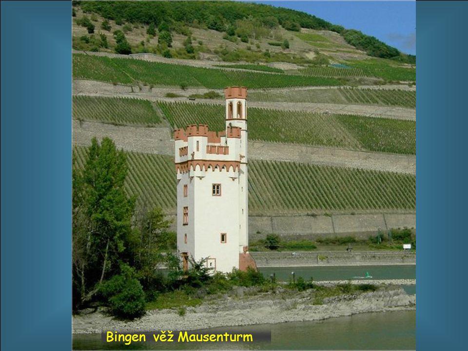 Bingen věž Mausenturm