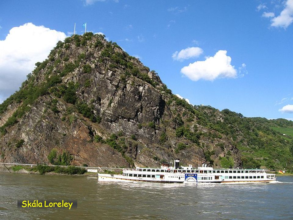 LORELEY Skála Loreley