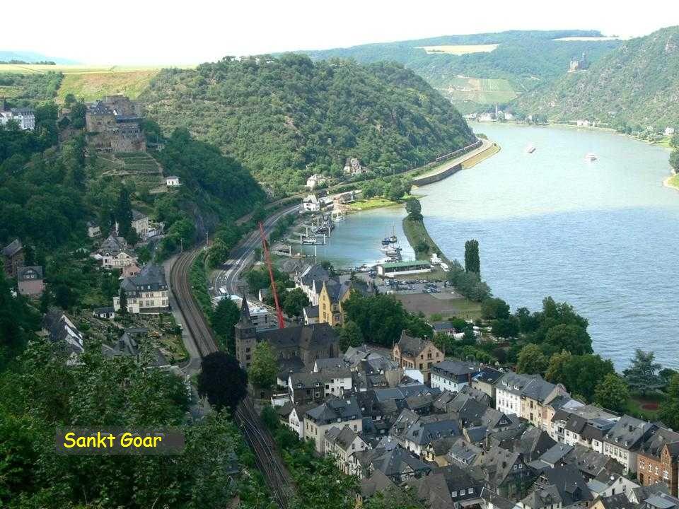 Sankt Goar a hrad Rheinfels