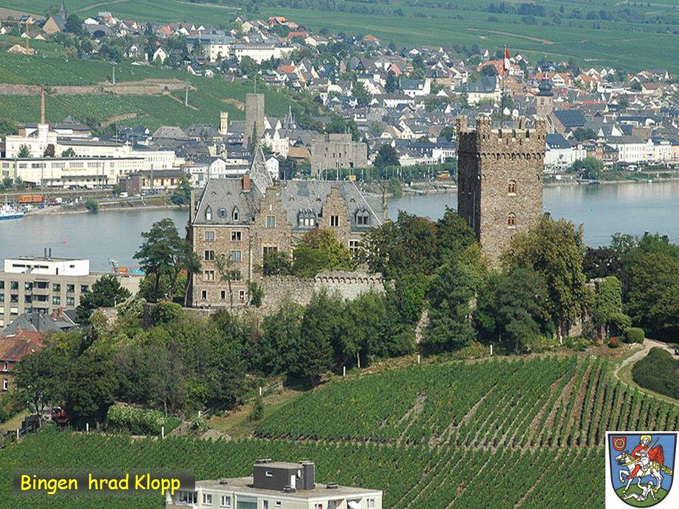 Bingen hrad Klopp