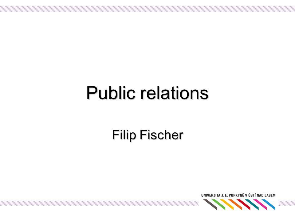 Public relations Filip Fischer