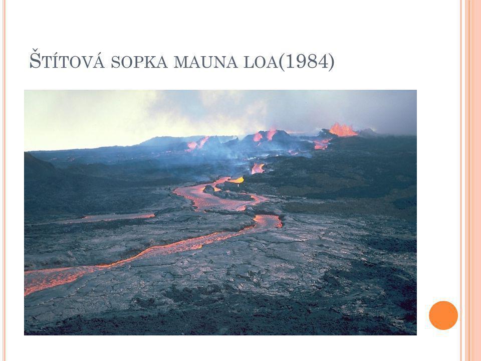 Š TÍTOVÁ SOPKA MAUNA LOA (1984)