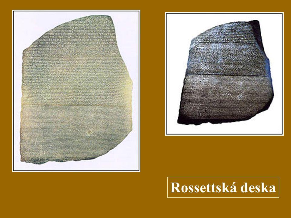 Rossettská deska