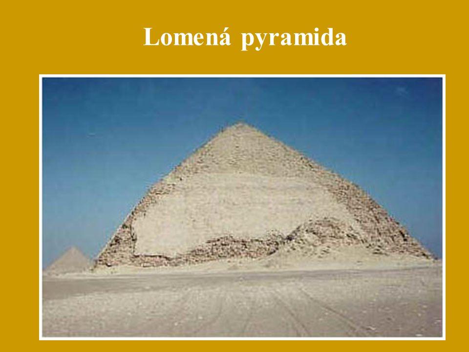 Lomená pyramida