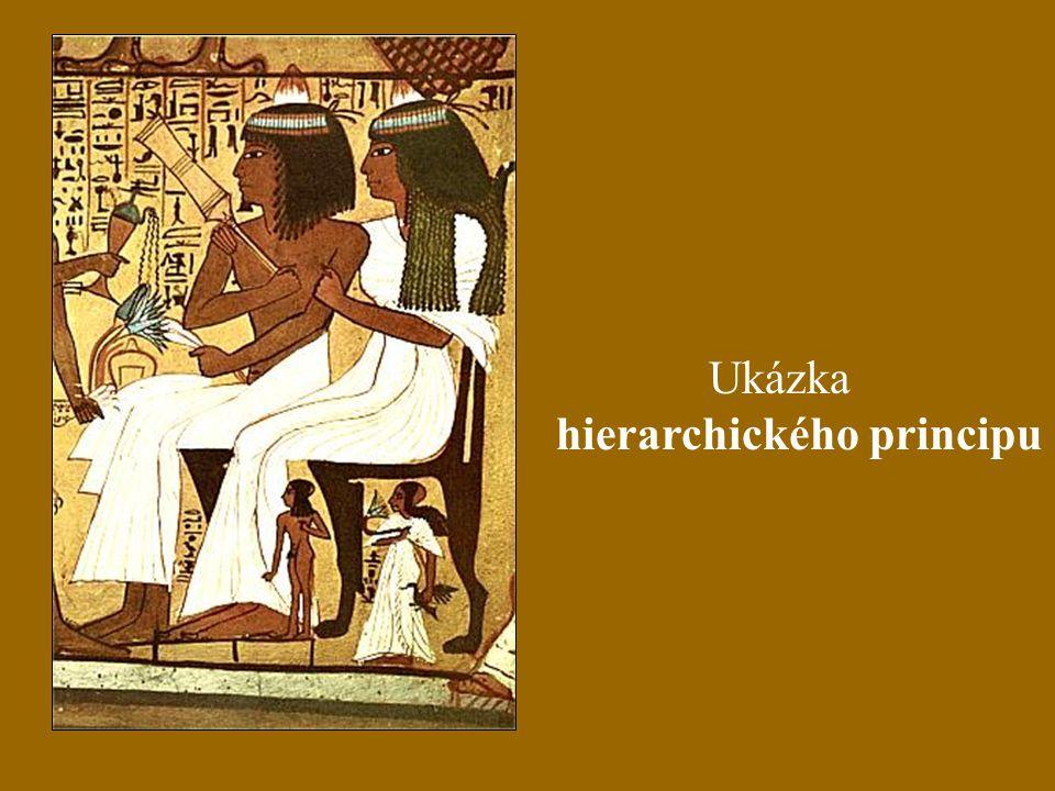 Ukázka hierarchického principu