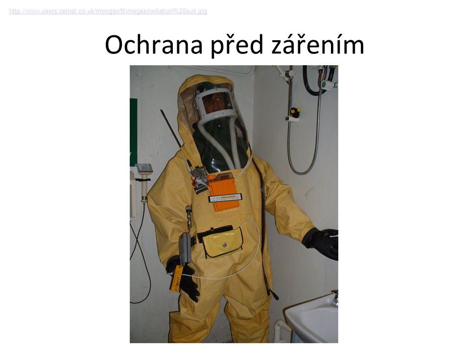 Ochrana před zářením http://www.users.zetnet.co.uk/mongsoft/images/radiation%20suit.jpg