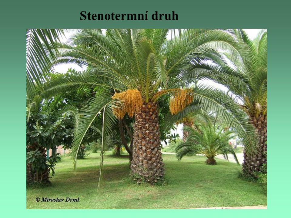 Podle vztahu ke stanovištní vlhkosti rozlišujeme u rostlin: hydrofyty rostliny vázané na vodní prostředí hygrofytyrostliny rostoucí na mokrých a zabahněných půdách mezofytyrostliny rostoucí na vlhkých a mírně vlhkých půdách xerofytyrostliny na půdách suchých