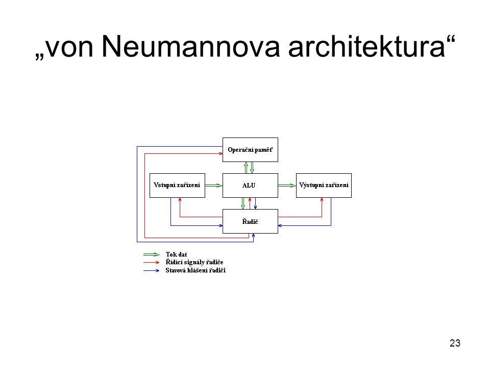 """""""von Neumannova architektura"""" 23"""