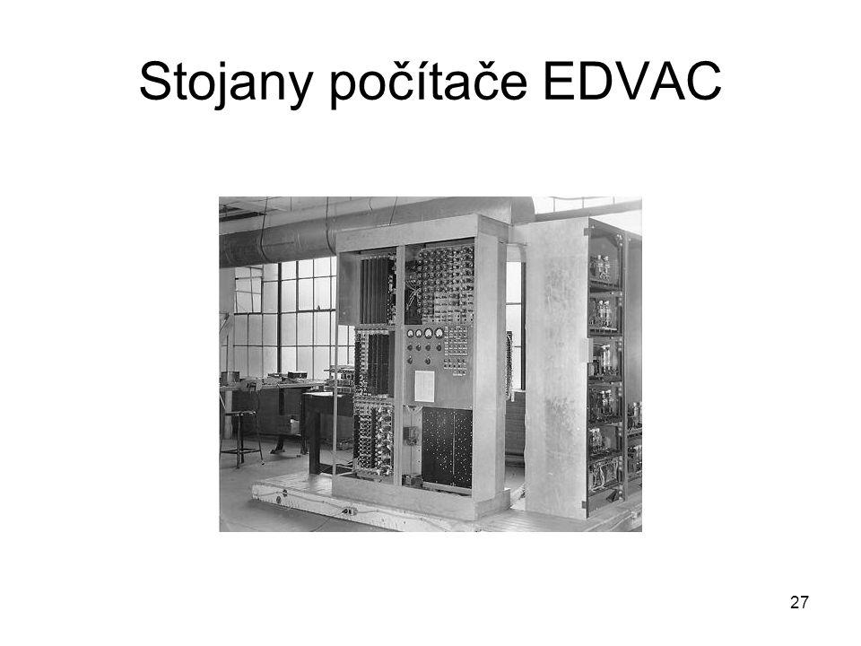 Stojany počítače EDVAC 27