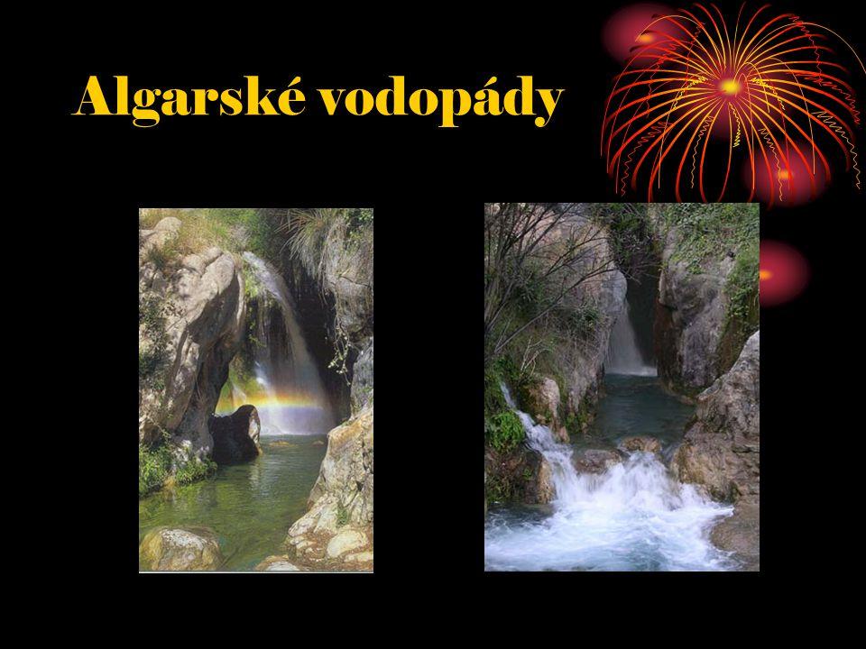 Algarské vodopády