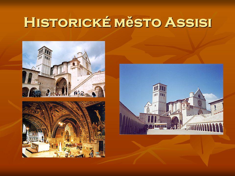Historické m ě sto Assisi