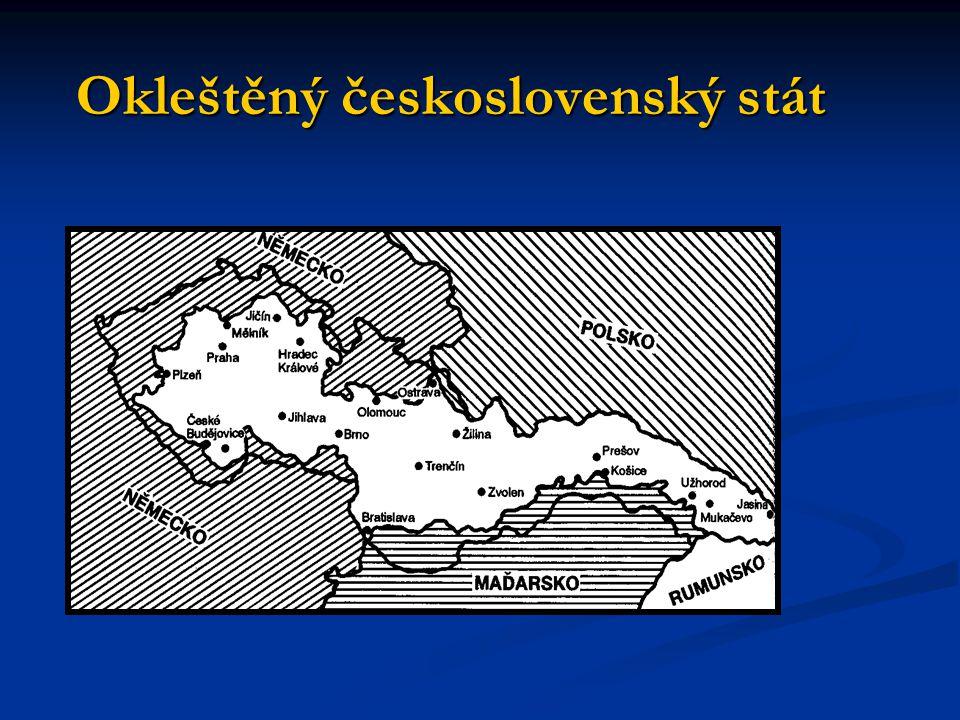 Okleštěný československý stát