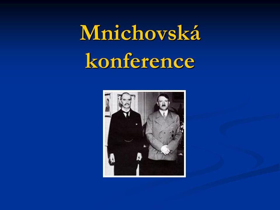 Mnichovská konference