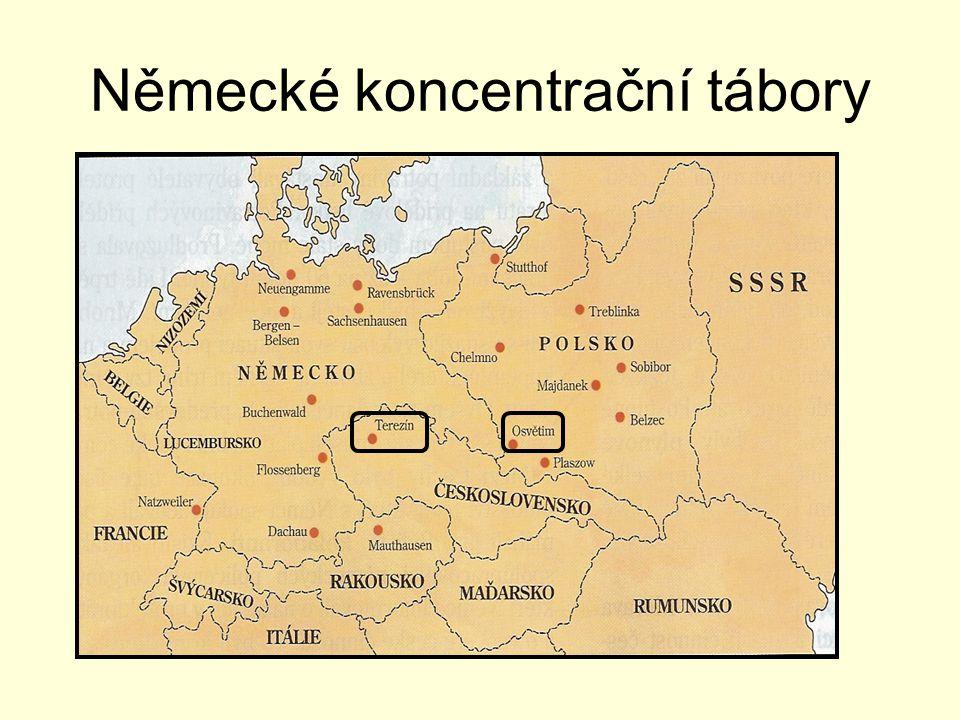 Německé koncentrační tábory