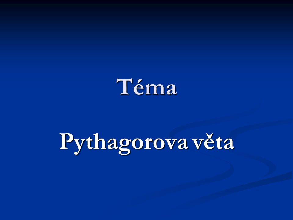 Pythagoras Řecký matematik Žil v letech 580- 500př.n.l.