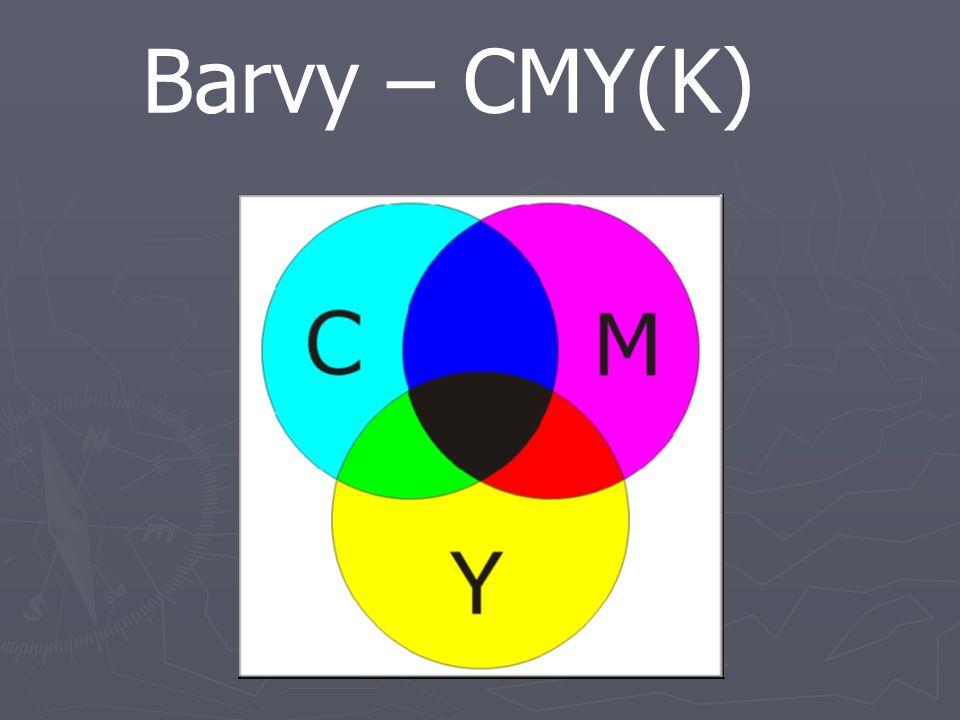 Barvy – CMY(K)