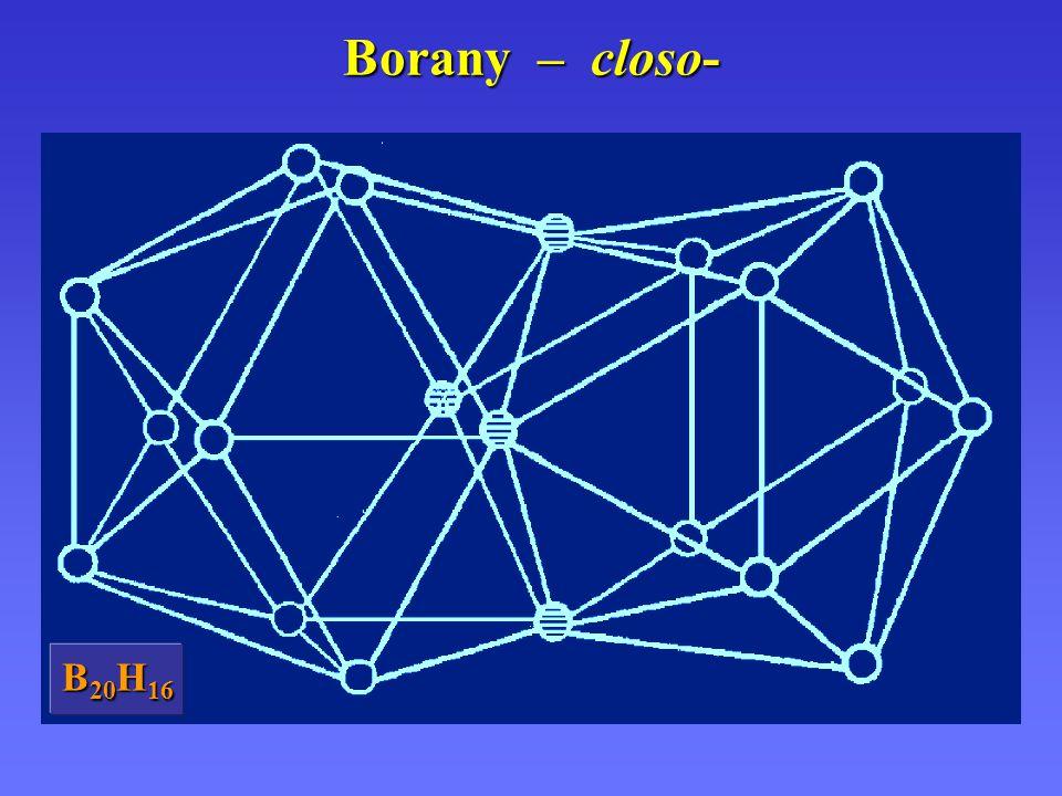 Borany – closo- B 20 H 16
