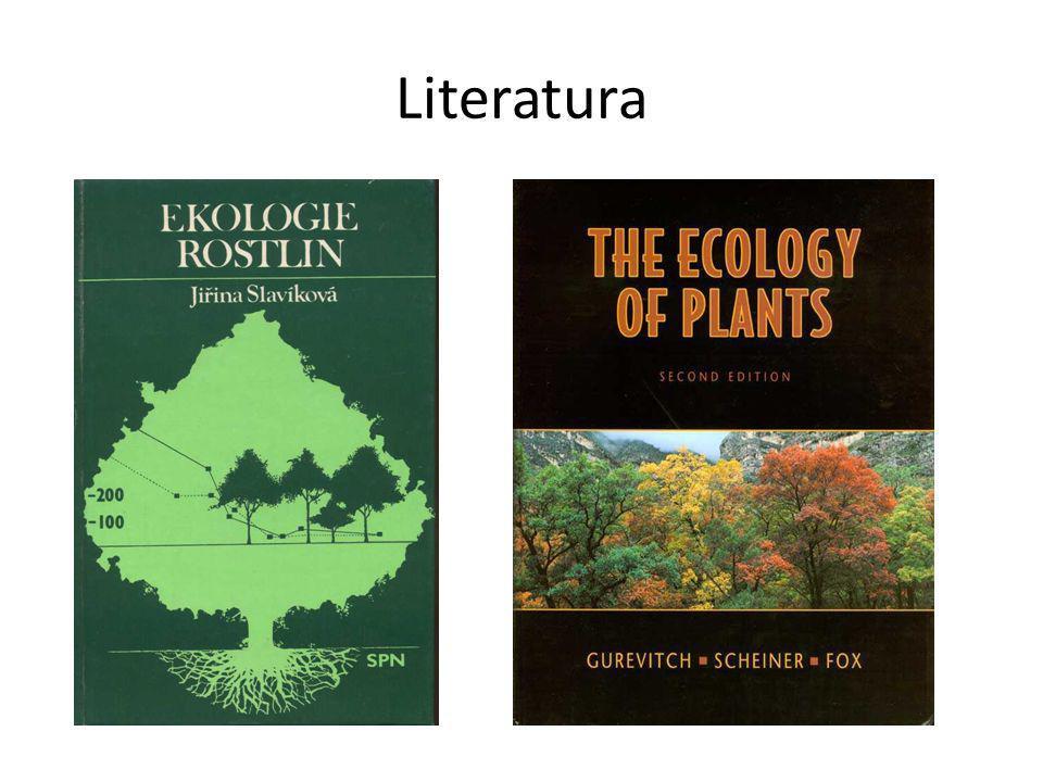 Životní formy rostlin - Raunkiaer (1905) kategorie založeny na části životního cyklu rostlin – kritérium – uložení obnovovacích meristematických pletiv vzhledem k období nepříznivému pro růst (zima, sucho)