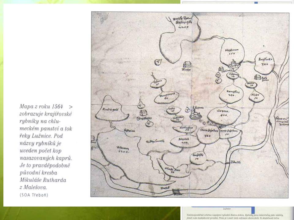 Rybníky U Nových Hradů – r. Žár (Žďár), zmíněn v darovací listině Přemysla Otakara I. 1221. Hráze = cesty, protipovodňové zábrany, obrana měst (Vajgar