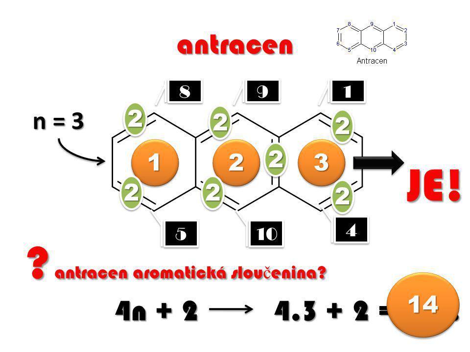 antracen 1 1 4 4 5 5 8 8 9 9 .antracen aromatická slou č enina.