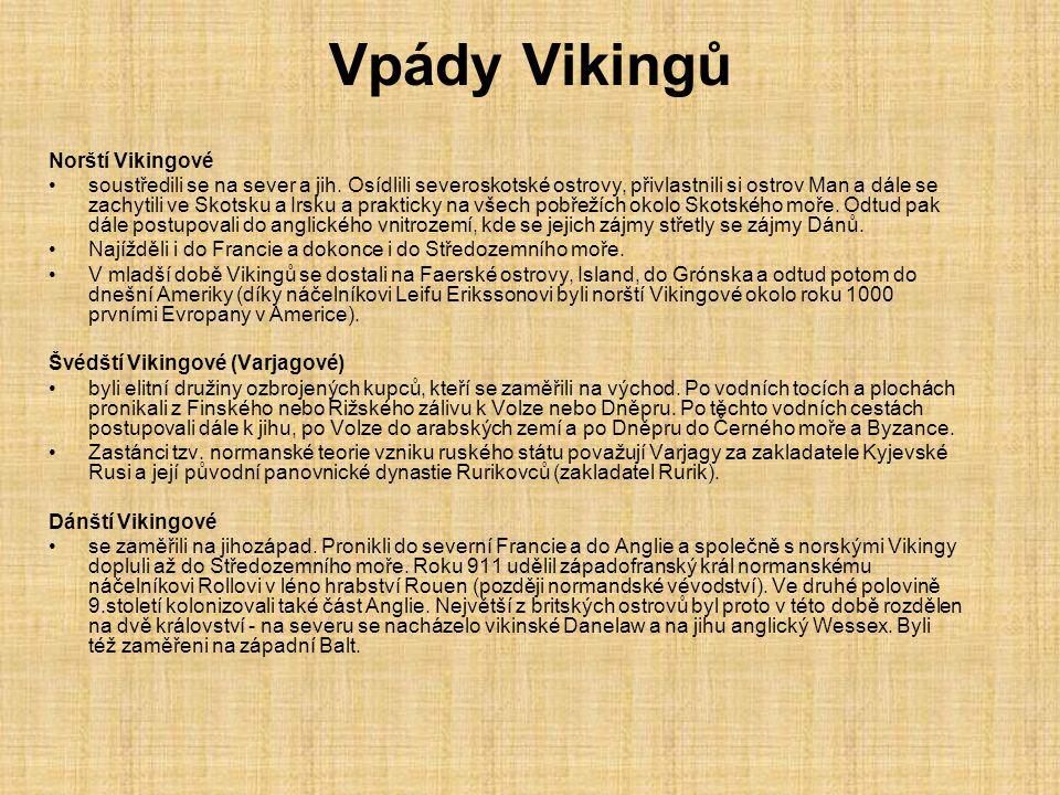 Vikingské mýty a legendy Vikingové uctívali staré severské bohy.