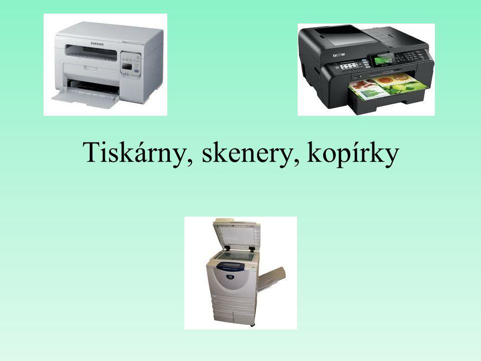 Tiskárny, skenery, kopírky