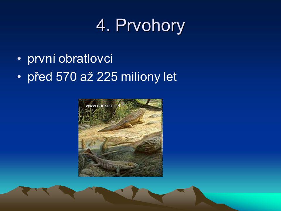 5. Druhohory rozvoj velkých plazů (dinosauři) před 225 až 68 miliony let dejepis.mysteria.cz
