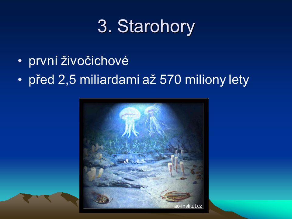 4. Prvohory první obratlovci před 570 až 225 miliony let www.cackon.net