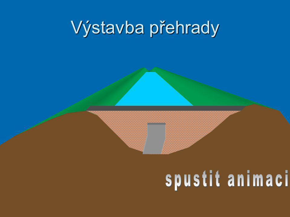 Výstavba přehrady