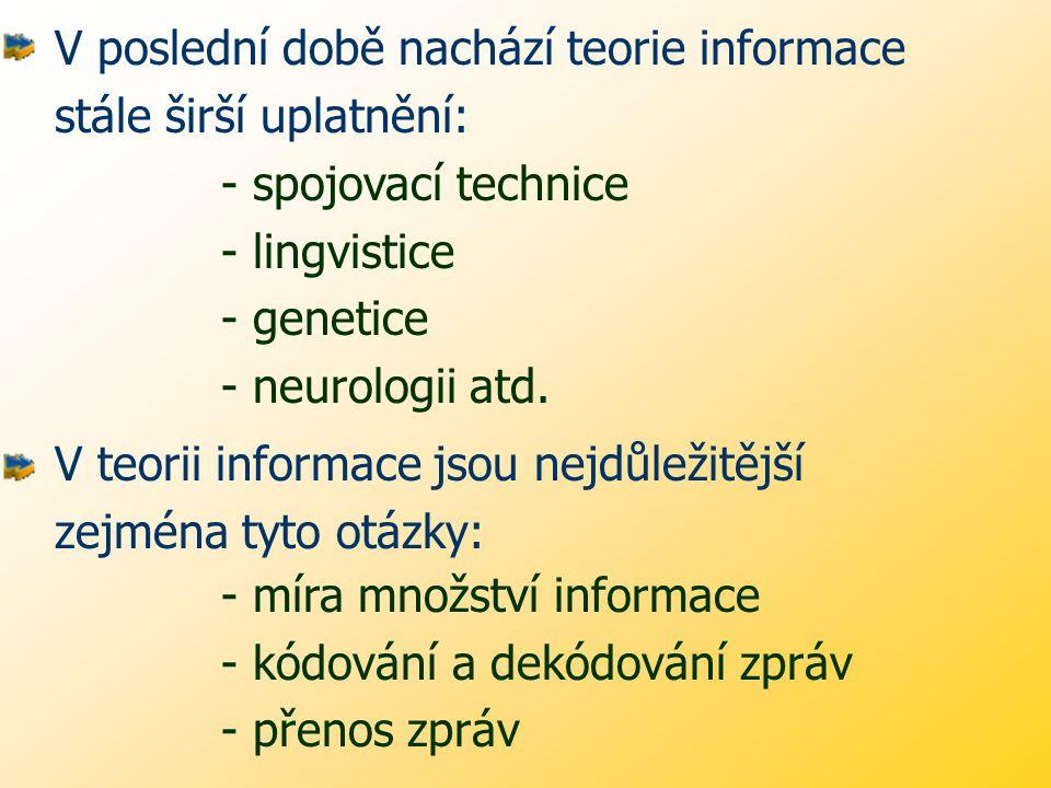 Informatiku chápeme jako: oblast vědy a techniky, která se zabývá všeobecnými vědeckými problémy souvisejícími s poznáním a realizací objektů, jevů a