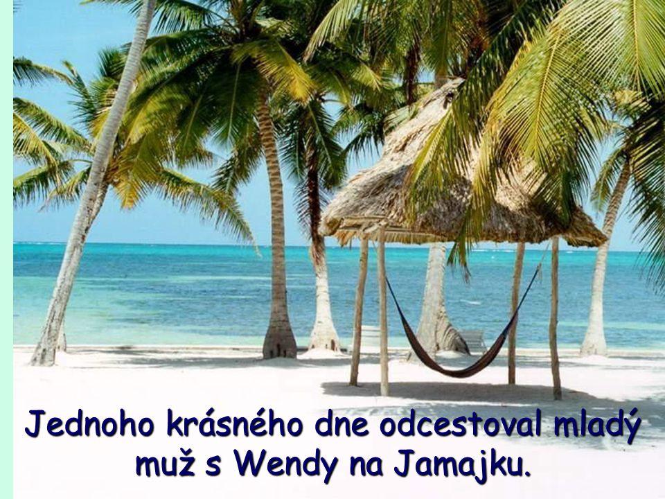 Jednoho krásného dne odcestoval mladý muž s Wendy na Jamajku.