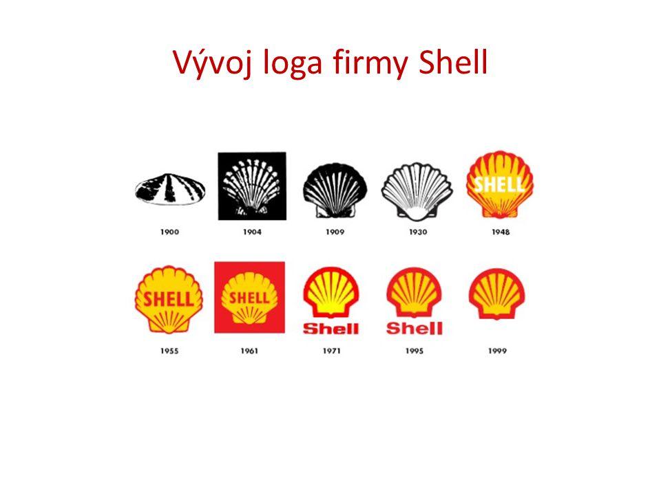Vývoj loga firmy Shell