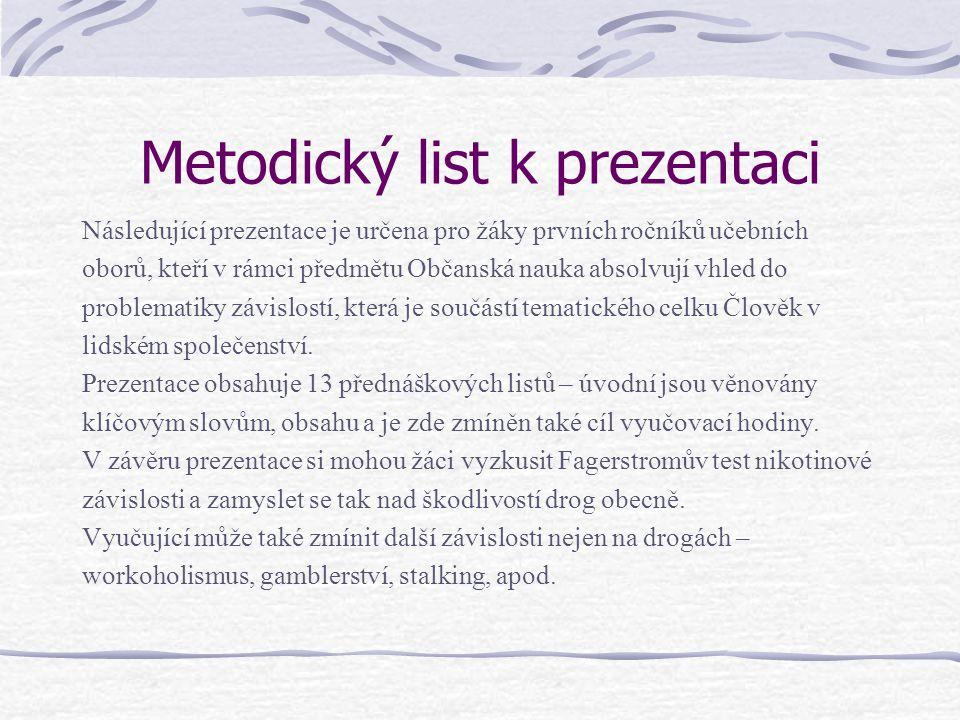 Použitá literatura Machová, J.Výchova ke zdraví pro učitele.