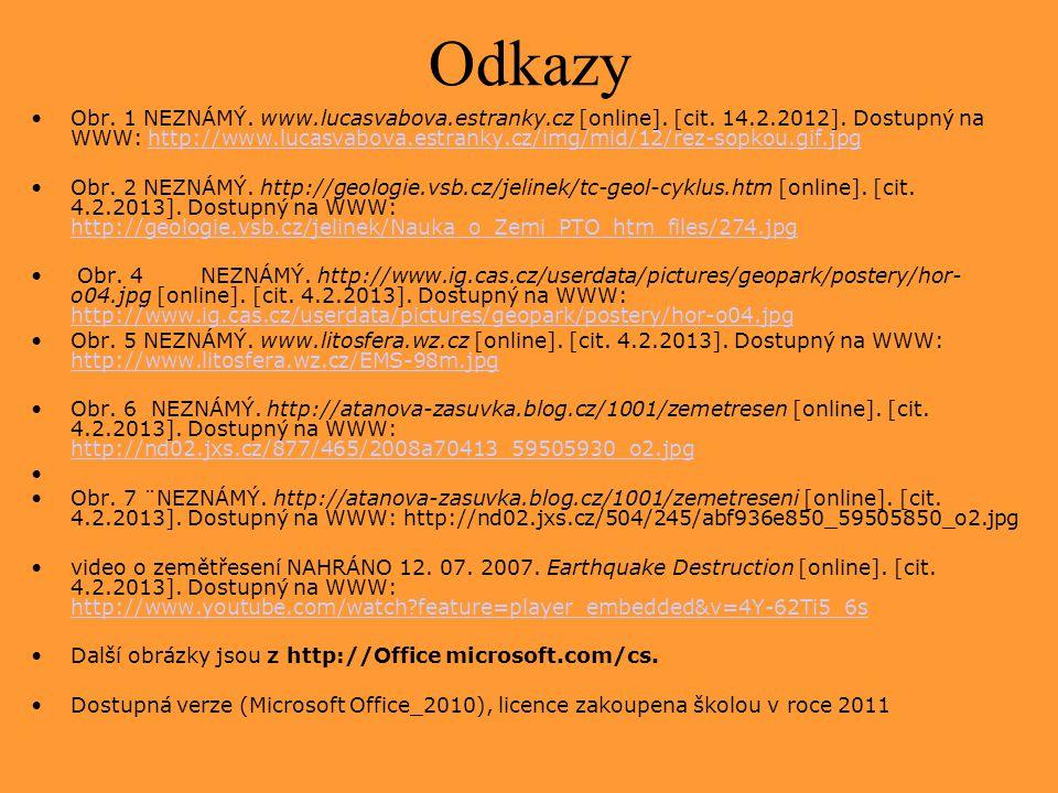 Odkazy Obr.1 NEZNÁMÝ. www.lucasvabova.estranky.cz [online].