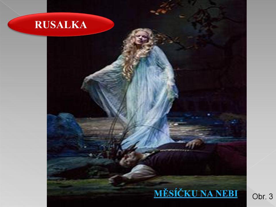 RUSALKA MĚSÍČKU NA NEBI Obr. 3