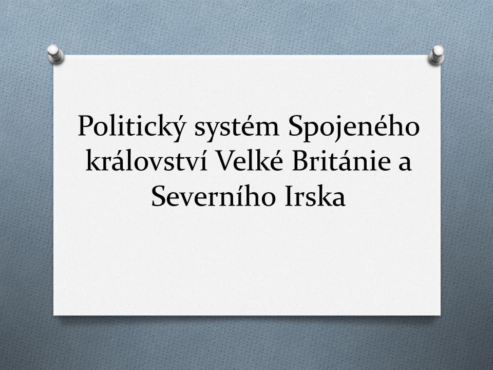 Politický systém Spojeného království Velké Británie a Severního Irska