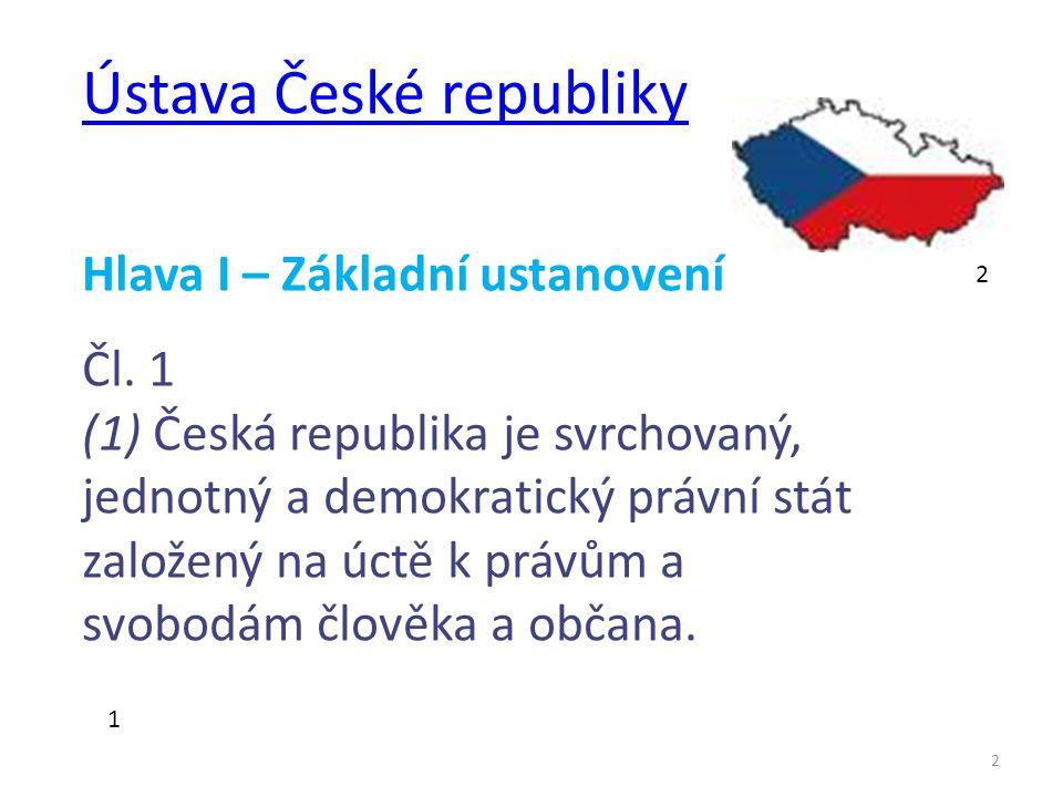 3 3 PILÍŘE POLITICKÉHO SYSTÉMU  demokracie  liberalismus  ústavnost  republika