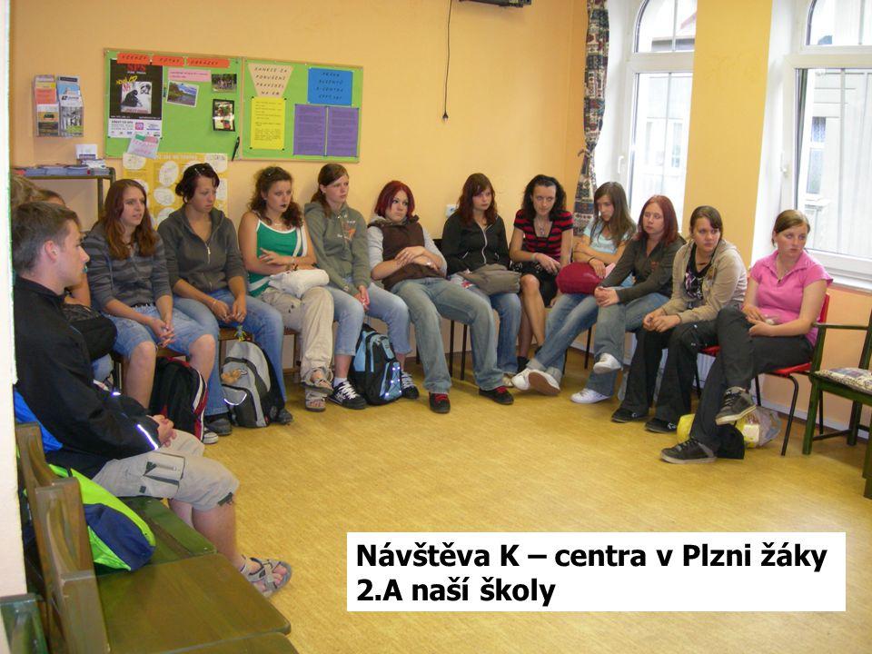 Návštěva K – centra v Plzni žáky 2.A naší školy