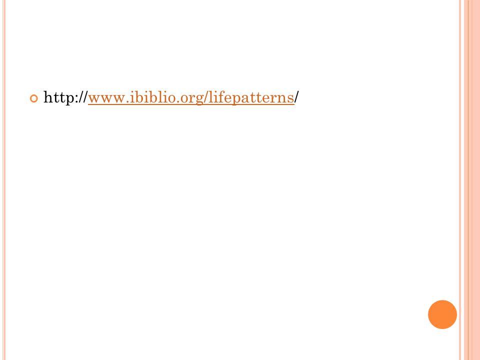 http://www.ibiblio.org/lifepatterns/www.ibiblio.org/lifepatterns