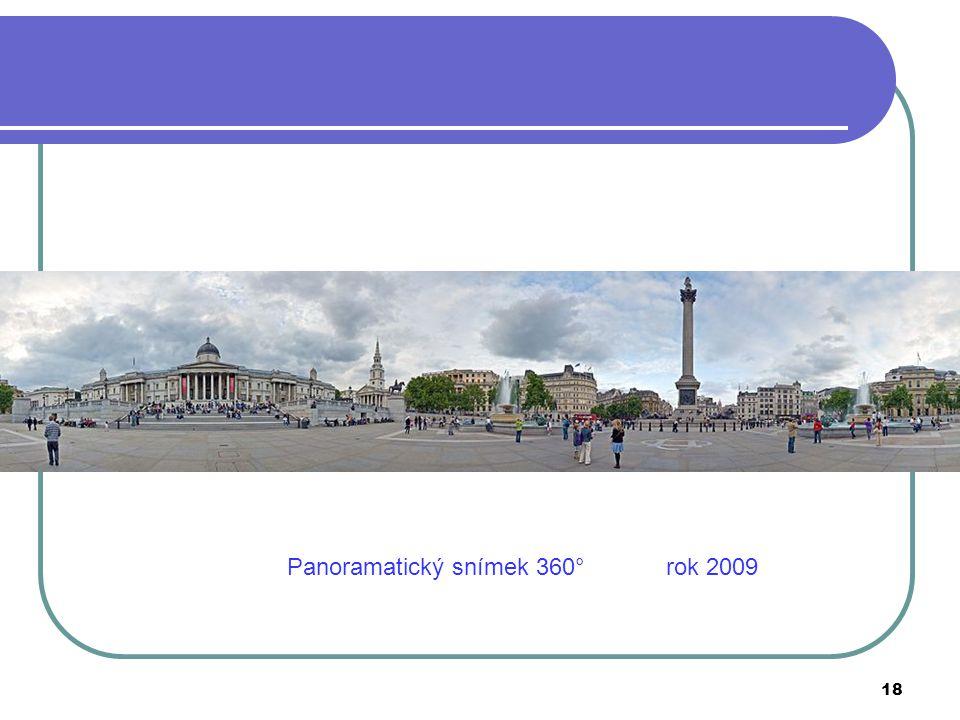Panoramatický snímek 360° rok 2009 18