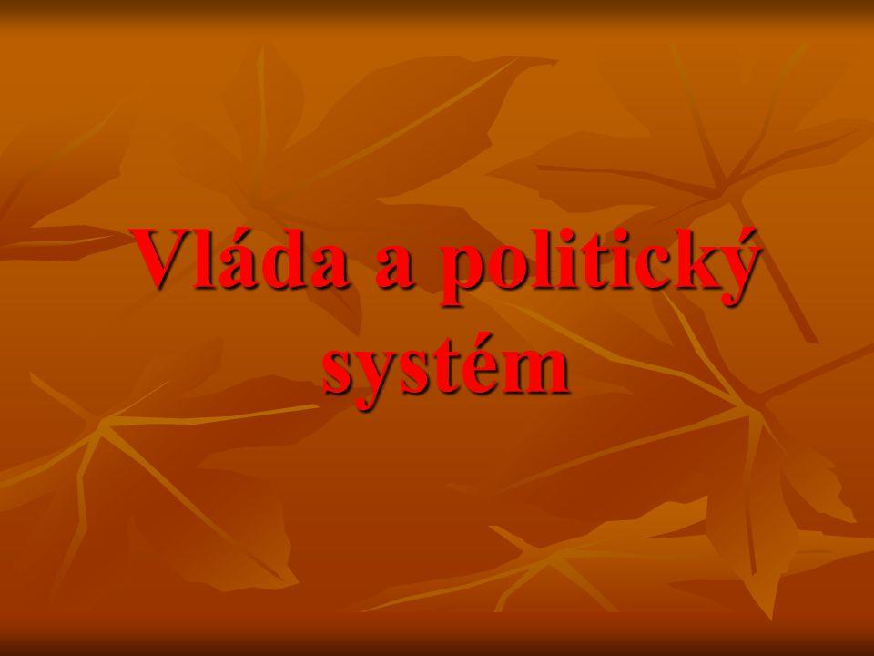 Vláda a politický systém