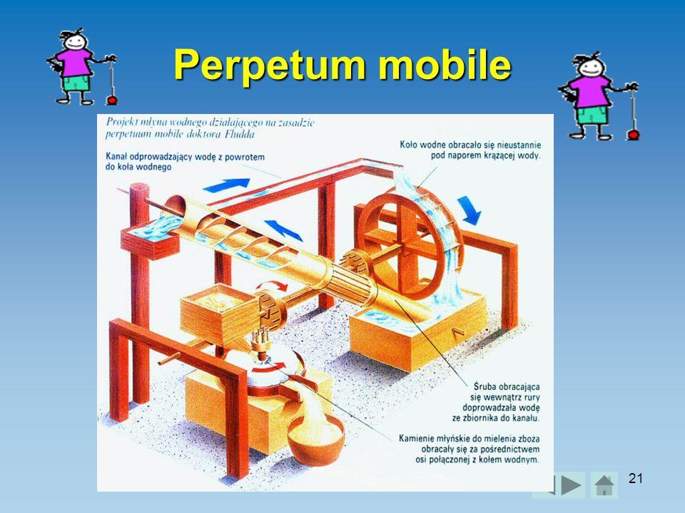 Práce a výkon21 Perpetum mobile