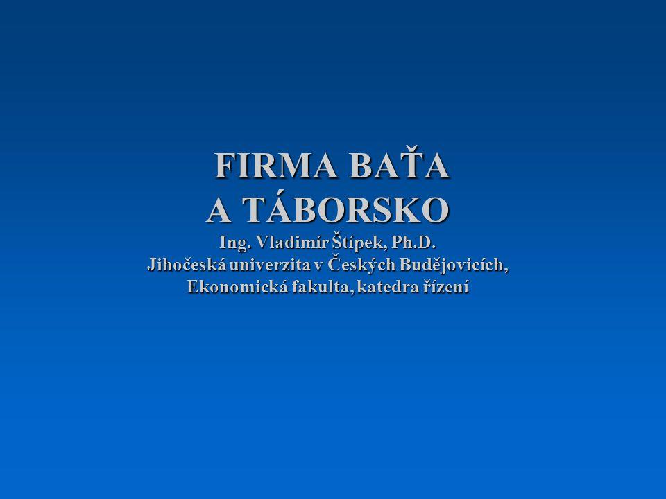 FIRMA BAŤA A TÁBORSKO Ing.Vladimír Štípek, Ph.D.