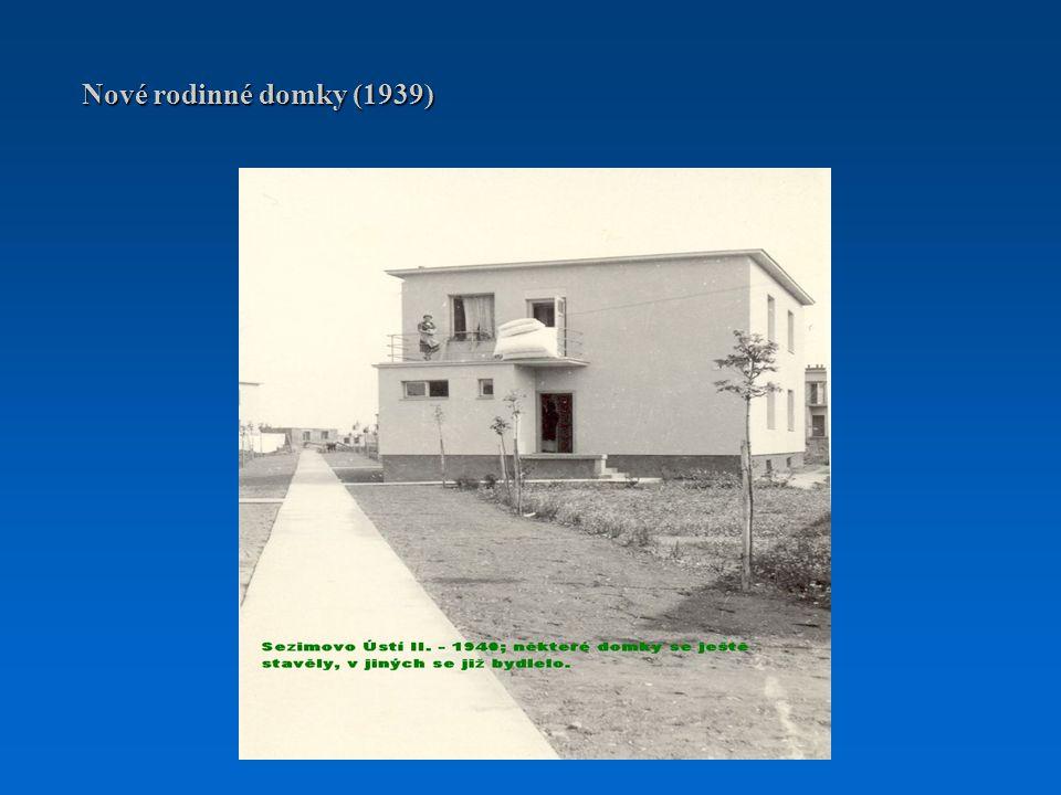 Nové rodinné domky (1939)