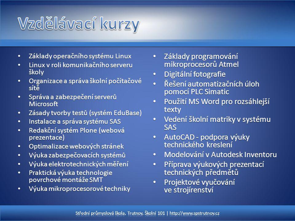 Základy operačního systému Linux Základy operačního systému Linux Linux v roli komunikačního serveru školy Linux v roli komunikačního serveru školy Or