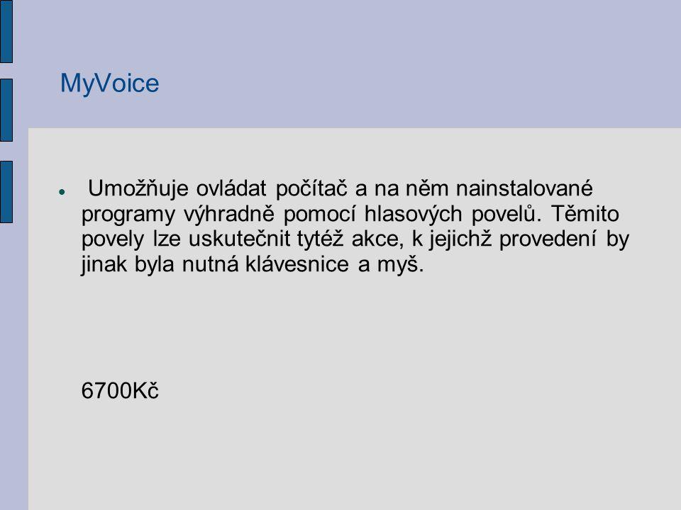 Program MyDictate psaní textu pomocí hlasu bez nutnosti použít klávesnici PC.